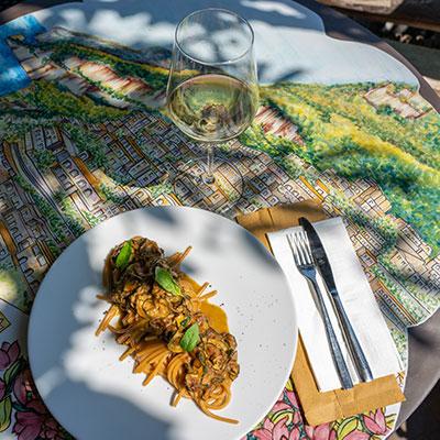 Il ristorante - La Zagara - Positano